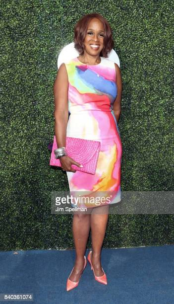 TV personality Gayle King attends the 17th Annual USTA Foundation Opening Night Gala at USTA Billie Jean King National Tennis Center on August 28...