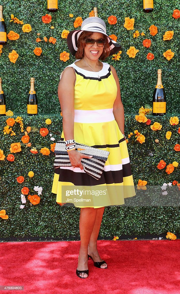TV Personality Gayle King attends the 8th Annual Veuve Clicquot Polo Classic at Liberty State Park on May 30, 2015 in Jersey City, New Jersey.