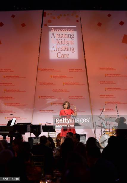 TV personality Gayle King hosts the NewYorkPresbyterian Hospital's Amazing Kids Amazing Care dinner at Cipriani 25 Broadway on November 16 2017 in...