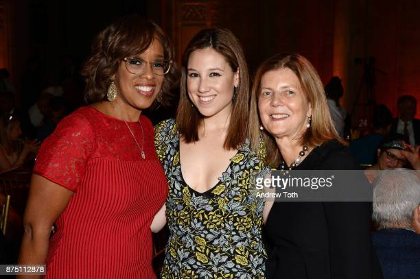 TV personality Gayle King Toby Milstein and Dr Mary D'Alton attend NewYorkPresbyterian Hospital's Amazing Kids Amazing Care dinner at Cipriani 25...
