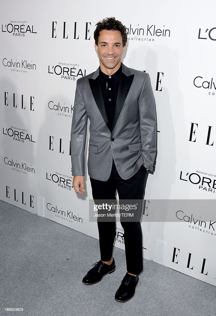 TV personality George Kotsiopoulos attends ELLE's 20th Annual Women In Hollywood Celebration at Four Seasons Hotel Los Angeles at Beverly Hills on October 21, 2013 in Beverly Hills, California.