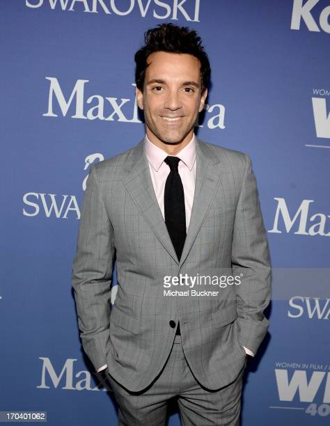 TV personality George Kotsiopoulos attends Women In Film's 2013 Crystal Lucy Awards at The Beverly Hilton Hotel on June 12 2013 in Beverly Hills...