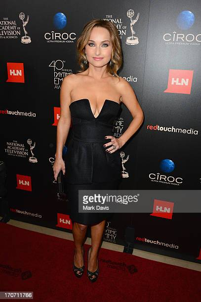 TV personality Giada De Laurentiis attends The 40th Annual Daytime Emmy Awards at The Beverly Hilton Hotel on June 16 2013 in Beverly Hills California