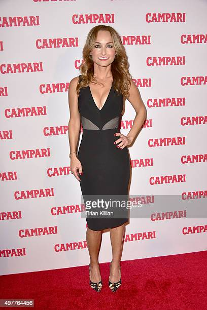 TV personality Giada De Laurentiis attends the Campari Calendar 2016 Launch at The Standard Hotel on November 18 2015 in New York City
