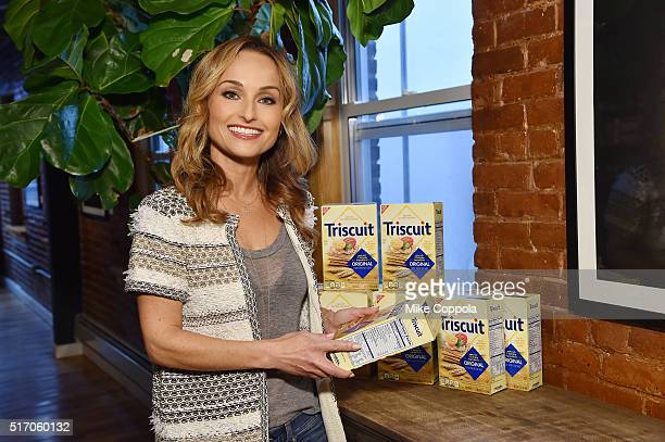 TV personality Giada De Laurentiis attends the Triscuit Maker Fund event on March 23 2016 in New York City
