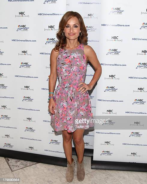 TV personality Giada de Laurentiis promotes her new books at NBC Experience Store on September 5 2013 in New York City