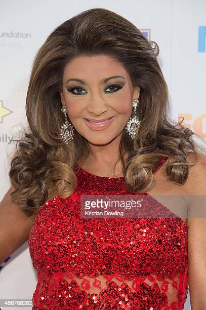 Personality Gina Liano arrives ahead of the Red Ball 2015 at the Grand Hyatt on September 5 2015 in Melbourne Australia