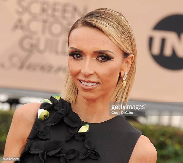 Personality Giuliana Rancic arrives at the 22nd Annual Screen Actors Guild Awards at The Shrine Auditorium on January 30, 2016 in Los Angeles,...