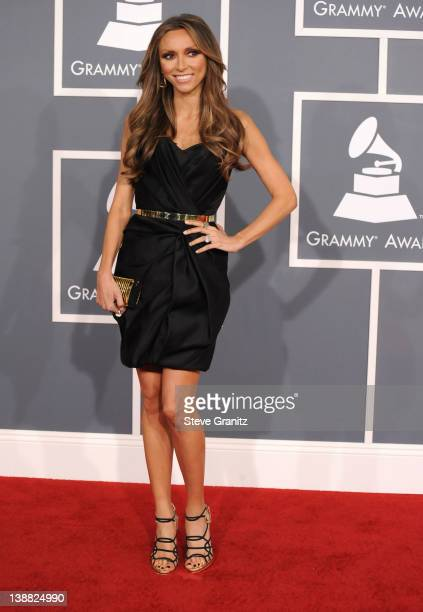 Personality Giuliana Rancic arrives at The 54th Annual GRAMMY Awards at Staples Center on February 12, 2012 in Los Angeles, California.