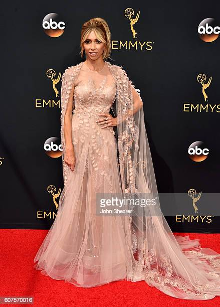 TV personality Giuliana Rancic arrives at the 68th Annual Primetime Emmy Awards at Microsoft Theater on September 18 2016 in Los Angeles California