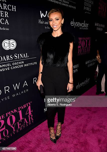 TV personality Giuliana Rancic attends Elyse Walker presents the 10th anniversary Pink Party hosted by Jennifer Garner and Rachel Zoe at HANGAR8 on...