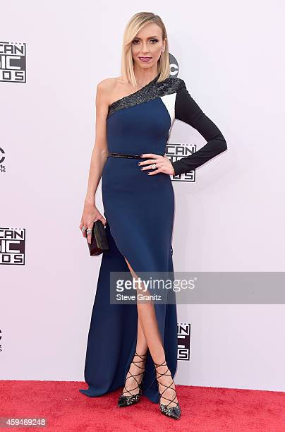 Personality Giuliana Rancic attends the 2014 American Music Awards at Nokia Theatre L.A. Live on November 23, 2014 in Los Angeles, California.