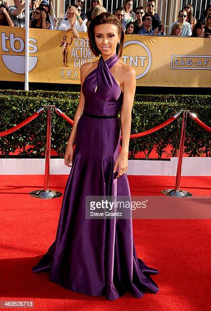TV personality Giuliana Rancic attends the 20th Annual Screen Actors Guild Awards at The Shrine Auditorium on January 18 2014 in Los Angeles...