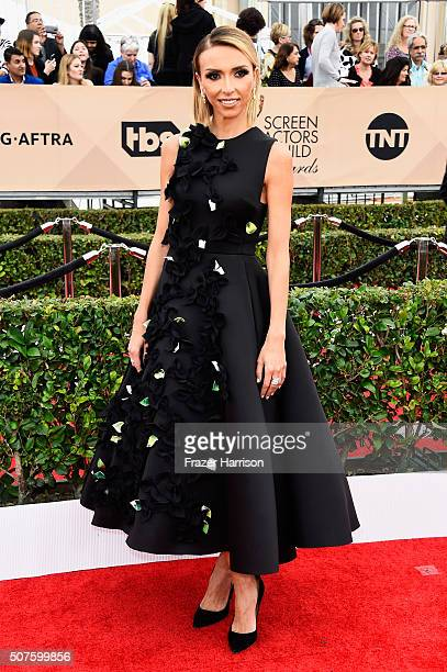 TV personality Giuliana Rancic attends the 22nd Annual Screen Actors Guild Awards at The Shrine Auditorium on January 30 2016 in Los Angeles...