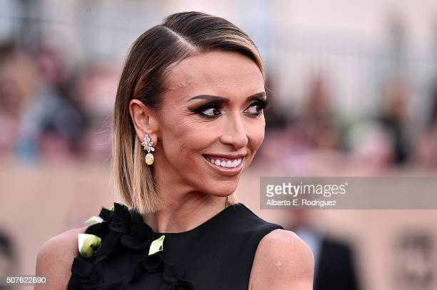 Personality Giuliana Rancic attends the 22nd Annual Screen Actors Guild Awards at The Shrine Auditorium on January 30, 2016 in Los Angeles,...
