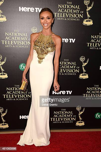 TV personality Giuliana Rancic attends The 41st Annual Daytime Emmy Awards at The Beverly Hilton Hotel on June 22 2014 in Beverly Hills California