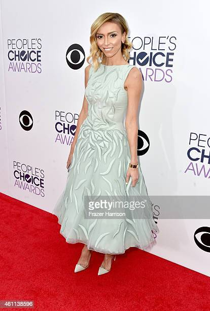 Personality Giuliana Rancic attends The 41st Annual People's Choice Awards at Nokia Theatre LA Live on January 7, 2015 in Los Angeles, California.