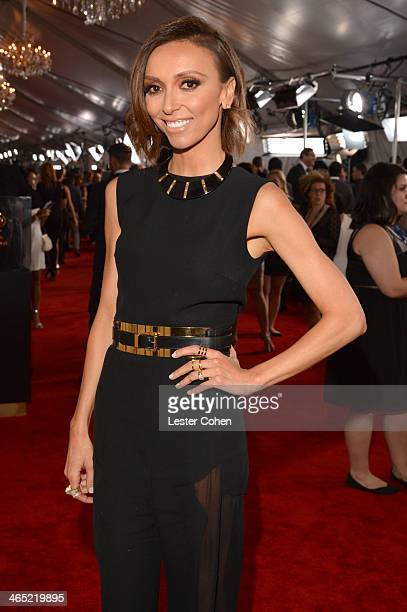 TV personality Giuliana Rancic attends the 56th GRAMMY Awards at Staples Center on January 26 2014 in Los Angeles California