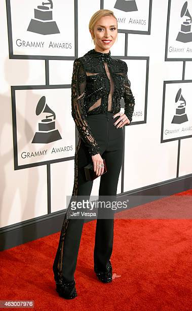 TV personality Giuliana Rancic attends The 57th Annual GRAMMY Awards at the STAPLES Center on February 8 2015 in Los Angeles California