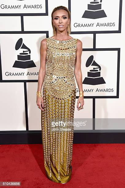 Personality Giuliana Rancic attends The 58th GRAMMY Awards at Staples Center on February 15, 2016 in Los Angeles, California.