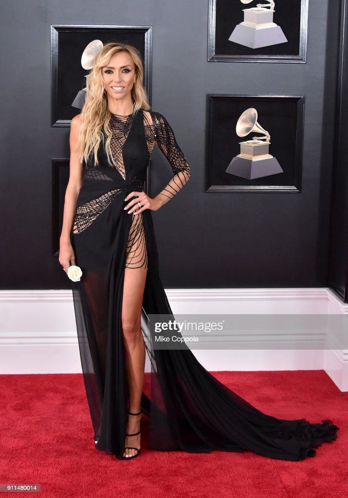 TV personality Giuliana Rancic attends the 60th Annual GRAMMY Awards at Madison Square Garden on January 28, 2018 in New York City.