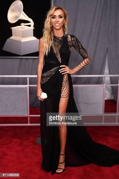 TV personality Giuliana Rancic attends the 60th Annual GRAMMY Awards at Madison Square Garden on January 28 2018 in New York City