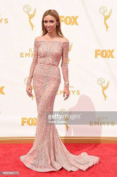 TV personality Giuliana Rancic attends the 67th Annual Primetime Emmy Awards at Microsoft Theater on September 20 2015 in Los Angeles California