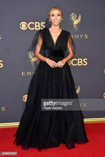 TV personality Giuliana Rancic attends the 69th Annual Primetime Emmy Awards at Microsoft Theater on September 17 2017 in Los Angeles California