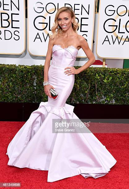 Personality Giuliana Rancic attends the 72nd Annual Golden Globe Awards at The Beverly Hilton Hotel on January 11, 2015 in Beverly Hills, California.