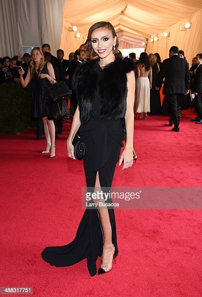 Personality Giuliana Rancic attends the 'Charles James Beyond Fashion' Costume Institute Gala at the Metropolitan Museum of Art on May 5 2014 in New...