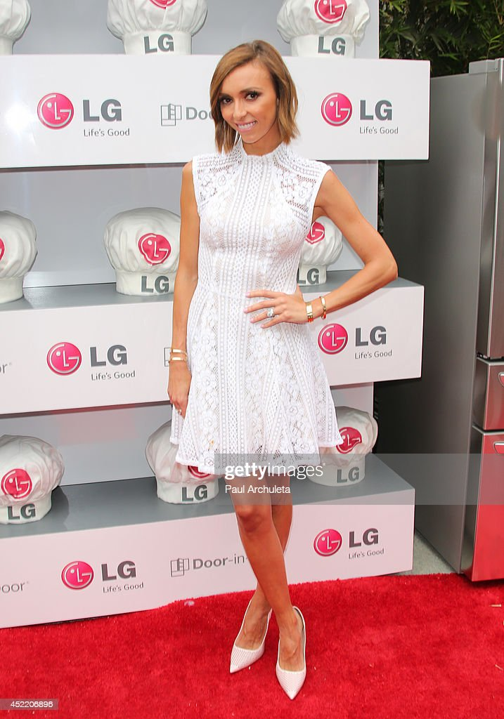 TV Personality Giuliana Rancic attends the Junior Chef Academy event at The Washbow on July 15, 2014 in Culver City, California.
