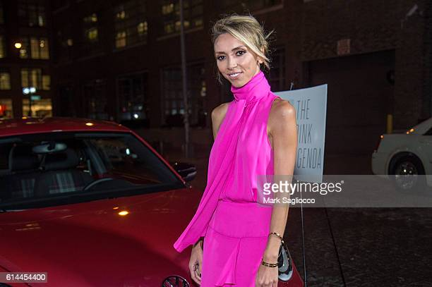 Personality Giuliana Rancic attends The Pink Agenda 2016 Gala at Three Sixty on October 13 2016 in New York City