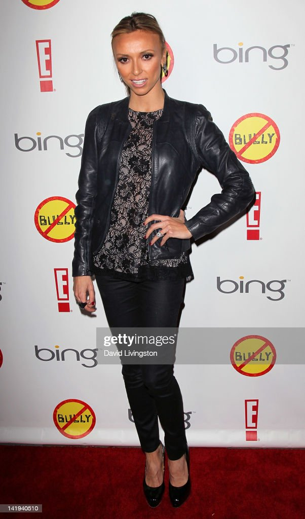 TV personality Giuliana Rancic attends the premiere of The Weinstein Company's 'Bully' at the Mann Chinese 6 on March 26, 2012 in Los Angeles, California.