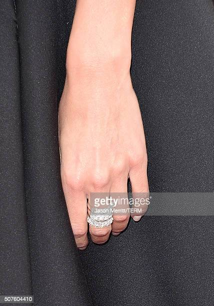 TV Personality Giuliana Rancic Jewelry Detail Attends The 22nd Annual Screen Actors Guild Awards At