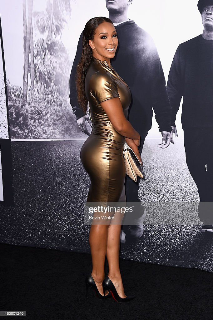 """Universal Pictures And Legendary Pictures' Premiere Of """"Straight Outta Compton"""" - Arrivals : News Photo"""