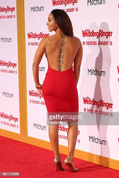 TV personality Gloria Govan attends the world premiere of The Wedding Ringer at TCL Chinese Theatre on January 6 2015 in Hollywood California