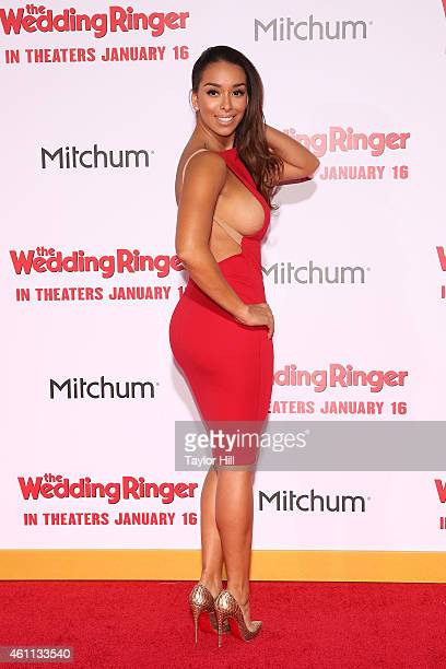 TV personality Gloria Govan attends the world premiere of 'The Wedding Ringer' at TCL Chinese Theatre on January 6 2015 in Hollywood California