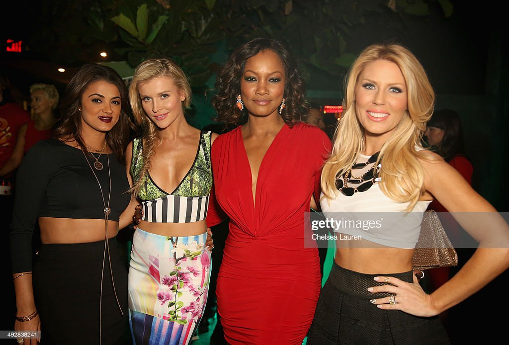 TV personality Golnesa 'GG' Gharachedaghi, model/TV personality Joanna Krupa, actress Garcelle Beauvais and TV personality Gretchen Rossi attend OK Magazine's So Sexy L.A. Event at LURE on May 21, 2014 in Los Angeles, California.