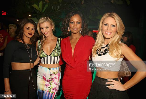 TV personality Golnesa 'GG' Gharachedaghi model/TV personality Joanna Krupa actress Garcelle Beauvais and TV personality Gretchen Rossi attend OK...