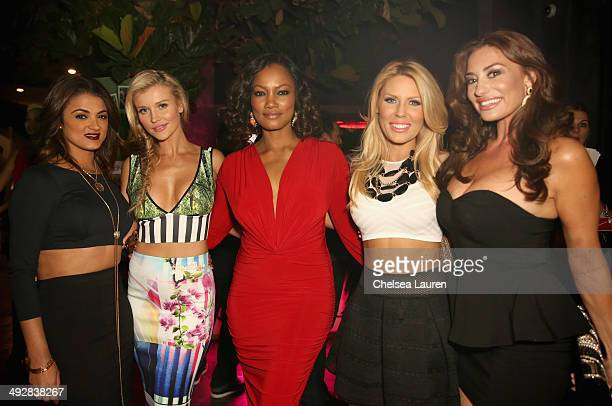 TV personality Golnesa 'GG' Gharachedaghi model/TV personality Joanna Krupa actress Garcelle Beauvais and TV personalities Gretchen Rossi and Lizzie...