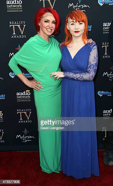 TV personality Gretchen Bonaduce and daughter Countess Isabella Bonaduce attend the 3rd Annual Reality TV Awards at Avalon on May 13 2015 in...