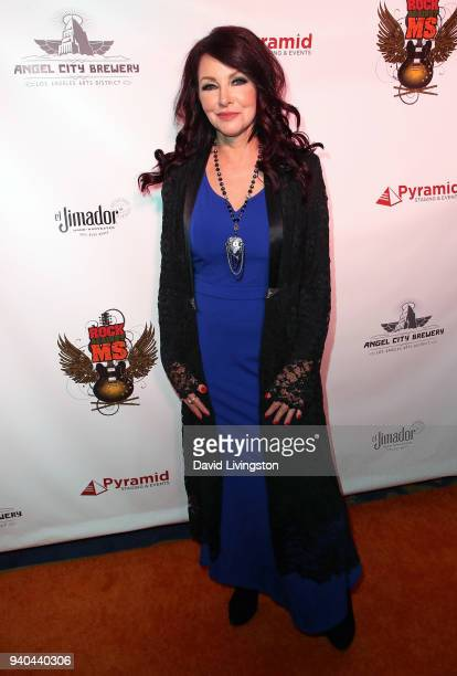 TV personality Gretchen Bonaduce attends the 6th Annual Rock Against MS benefit concert and award show at the Los Angeles Theatre on March 31 2018 in...