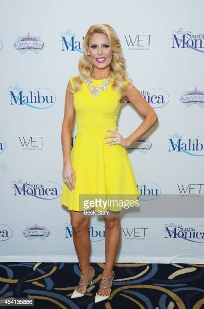 TV personality Gretchen Rossi arrives at The Tenth Annual Miss Malibu and 3rd Annual Miss Beverly Hills Pageant at the Loews Santa Monica Beach Hotel...
