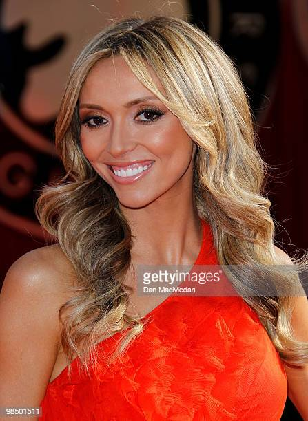 Personality Guiliana Rancic arrives at the 16th Annual Screen Actors Guild Awards held at the Shrine Auditorium on January 23, 2010 in Los Angeles,...