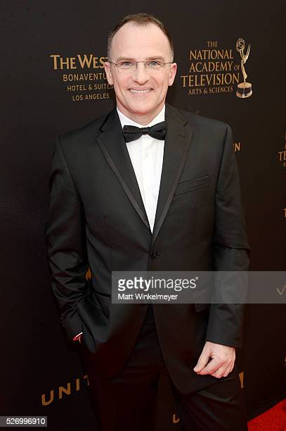 TV personality Guillermo Arduino walks the red carpet at the 43rd Annual Daytime Emmy Awards at the Westin Bonaventure Hotel on May 1 2016 in Los...