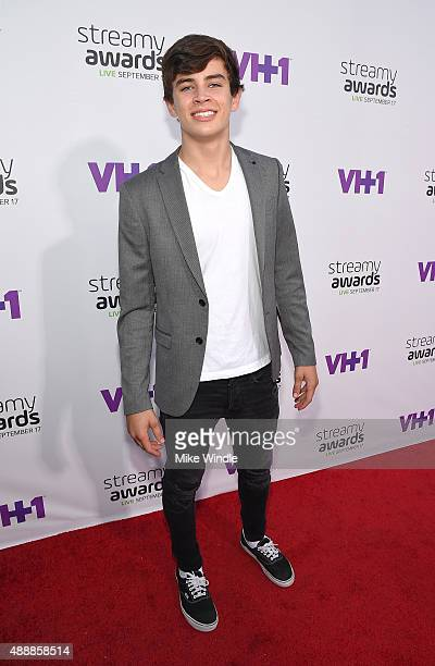 TV personality Hayes Grier attends VH1's 5th Annual Streamy Awards at the Hollywood Palladium on Thursday September 17 2015 in Los Angeles California