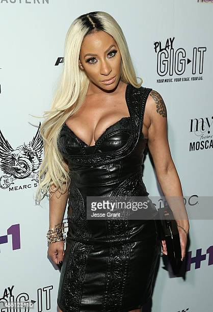TV personality HazelE attends the Love Hip Hop Hollywood Premiere Event on September 9 2014 in Hollywood California