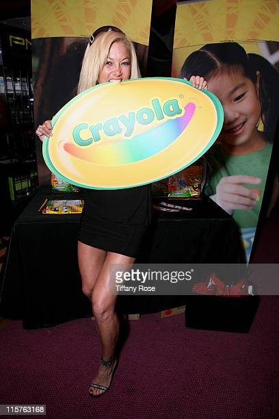 TV personality Heather Chadwell and Crayola at Melanie Segal's Kids' Choice Awards Lounge Presented By Stouffer's Day 2 at The Magic Castle on March...