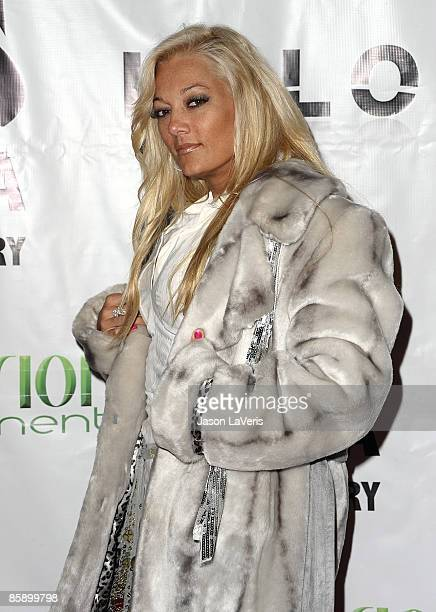 TV personality Heather Chadwell attends the Halo grand opening party on April 9 2009 in Hollywood California