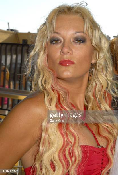 TV personality Heather Chadwell attends the Second Annual Reality Check Benefit held at Here Lounge on June 7 2008 in West Hollywood California